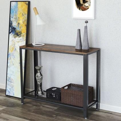 Konsollbord Maura 102x80 cm - Industriell stil