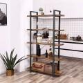 Reol Sollia 105x178 cm - Industriell stil