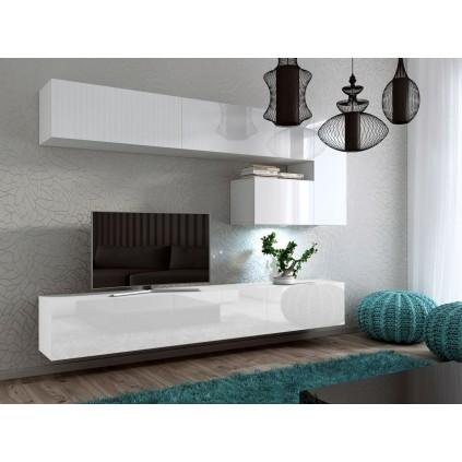 TV-møbel Concept 243x170 cm - Hvit