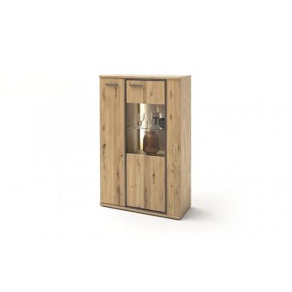 Skjenk Campinas 90x142 cm - Naturlook - Ferdig montert