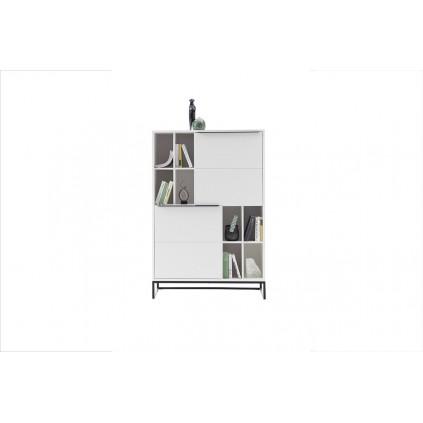 Skap Lille 100x149 cm - Hvit