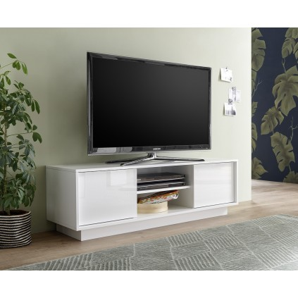 TV-benk Ice 139x44 cm - Hvit