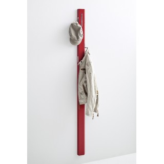 Knagg Savio 10x185 cm - Rød