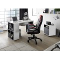 Skrivebord Tadeo 119x75 cm - Hvit