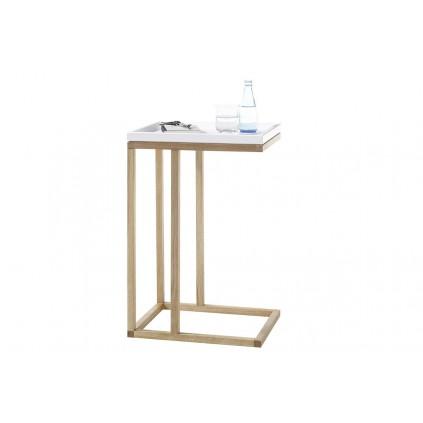 Sofabord Riverside 45x70 cm - Hvit - Eikelook