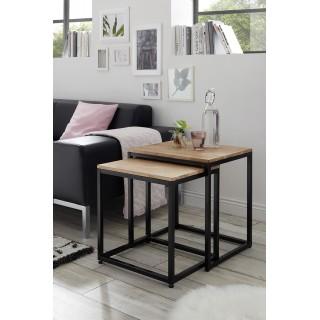 Sofabord Sakura 50x48 cm - Trelook - Svart