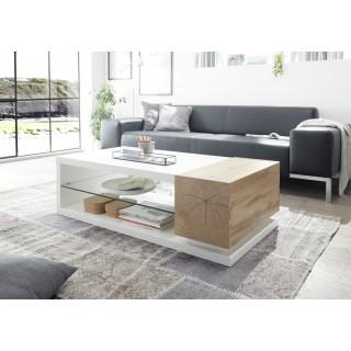 Sofabord Menisa 120x36 cm - Hvit