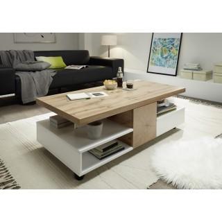 Sofabord Rennes 120x40 cm - Hvit