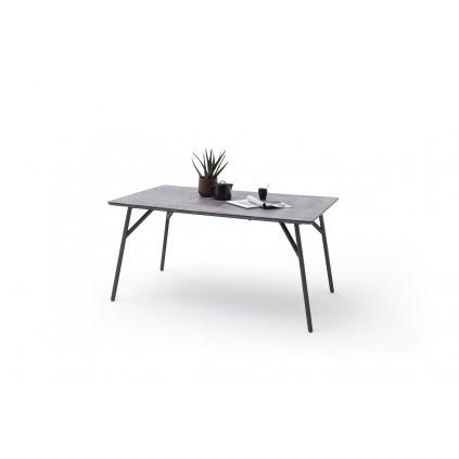 Spisebord Caracas 160x76 cm - Betonglook