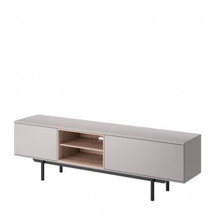 Tv-benk Enox 175x54 cm - Grå