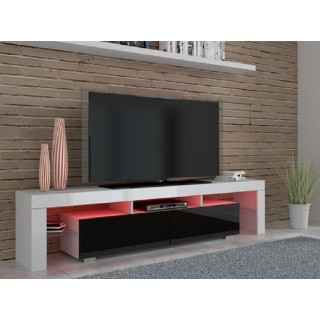 TV-Benk Square 190 - Mediabenk med LED