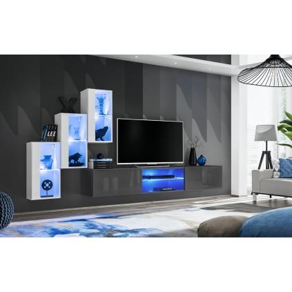 Tv-møbel Switch 240x170 cm - Garfitt - Hvit