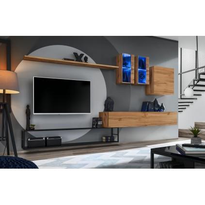 Tv-møbel Switch 330x180 cm - Trelook - Svart