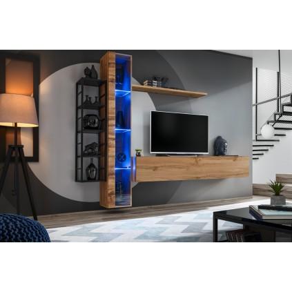 Tv-møbel Switch 240x180 cm - Naturlook