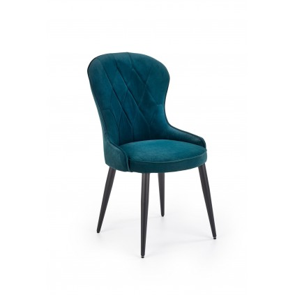 Stol Aurdal - Mørk Grønnblå
