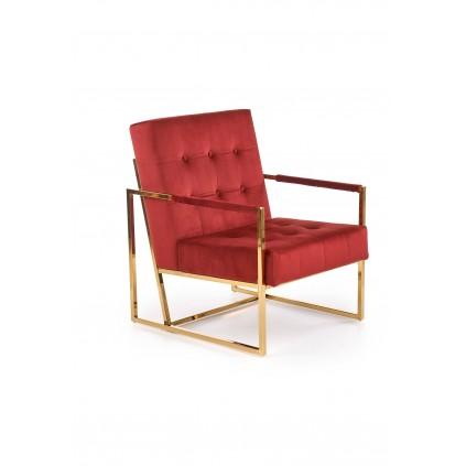 Hvilestol Prius - Rød - Gull