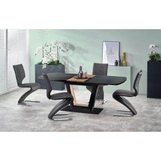 Spisebord Farrel 160-200 cm - Svart - Trelook