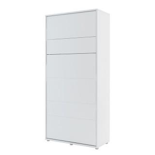 Mer omVeggseng Bed Concept 90 x 200 - Skapseng - Hvit - Vertikal