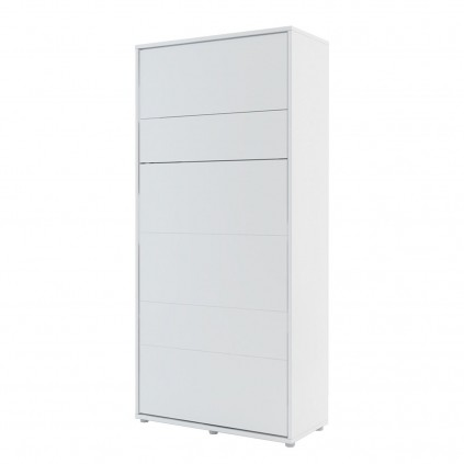 Veggseng Bed Concept 90 x 200 - Skapseng - Hvit - Vertikal