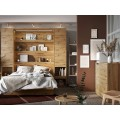 Veggseng Bed Concept 180 x 200 - Skapseng - Eik - Vertikal