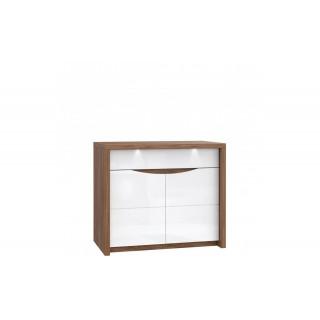 Skjenk Saint Tropez 98 x 84 cm - LED lys