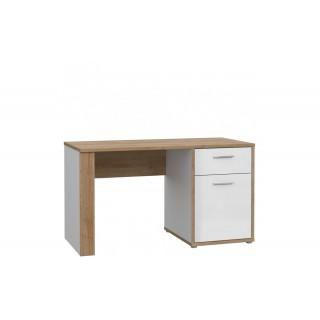 Mer omSkrivebord Oakley 130 x 74 cm - Trelook - Hvit