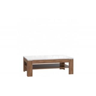 Stuebord Saint Tropez 120 cm - Brun Eik - Høyglans