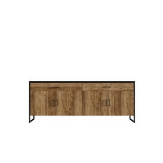 Mer omSkjenk Terabo 204x84 cm - Trelook - Svart matt