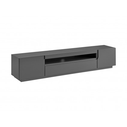 TV-benk Teon 200 cm - Grafitt - 2 dører