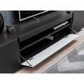 TV-benk Teon 200 cm - Svart matt - 2 dører