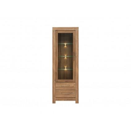 Vitrineskap Ryon - Eikelook - LED belysning