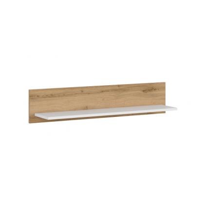 Hylle Viga 100x21 cm - Trelook - Hvit høyglans