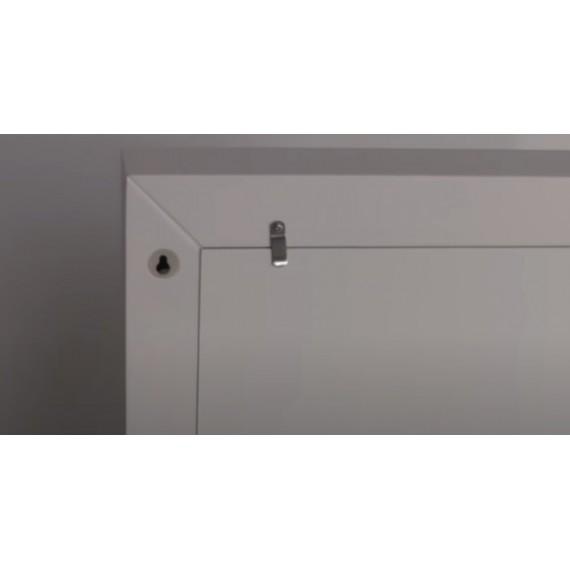 Sminkespeil Hollywood 60x80 - Veggmontert - med ramme