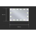 Sminkespeil Hollywood 120x80 - Veggmontert - Make up speil