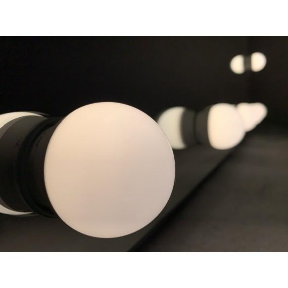 Sminkespeil Hollywood 50x70 - Vegghengt - Make up speil