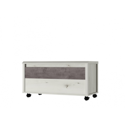 Oppbevaringskasse Onell 87x45 cm - med hjul