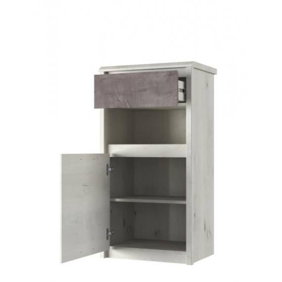 Skap Onell 56x108 cm - 1 dør - 1 skuff