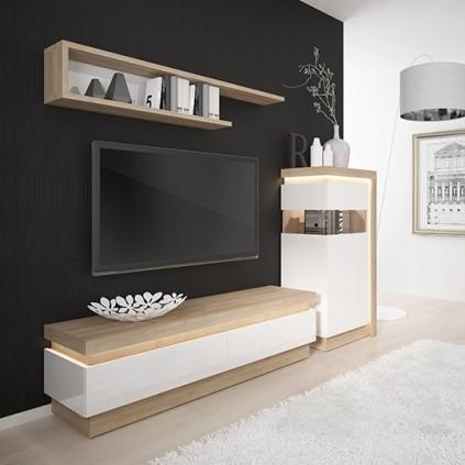 TV-benk Dailon 146 cm - 2 skuffer