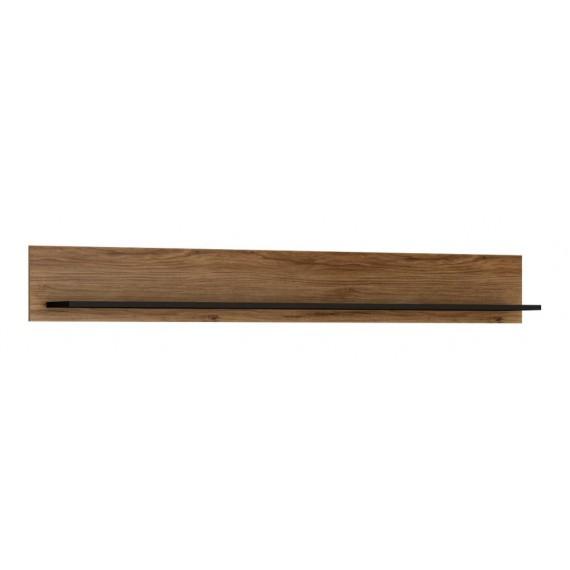 Hylle Barelo 167 cm - Eikelook - Svart