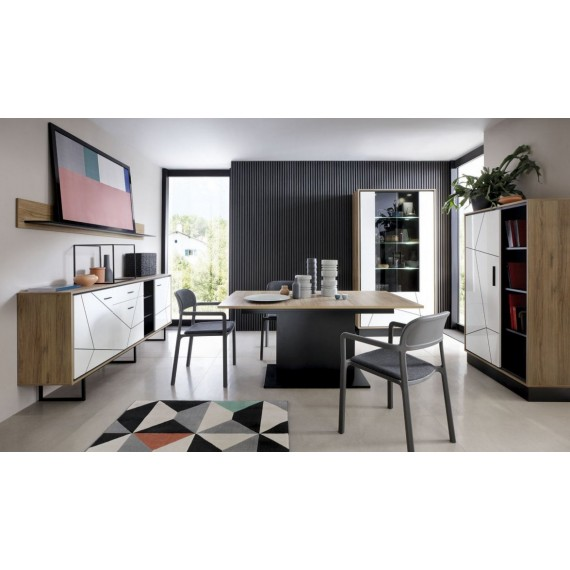 Spisebord Barelo 160x200 cm - Trelook - Svart