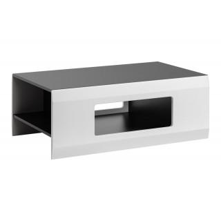 Sofabord Clif 100 cm - Grafitt - Hvit