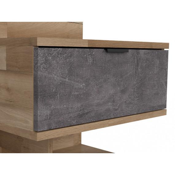Nattbord Arico 50x65 cm - med belysning