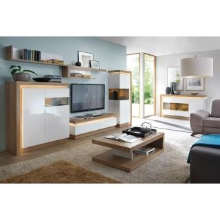Seksjon Dailon - Moderne Stuemøbler med LED belysning