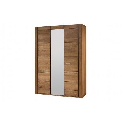 Garderobe Vallon 160x225 cm - Eik - med speil