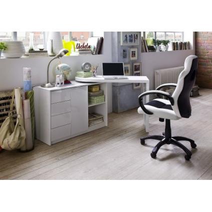 Skrivebord og skrivebordsstol