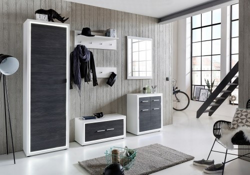 Uvanlig Garderobeskap til entre | Pene entremøbler med led lys | Møbel XW-45