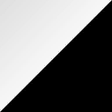 HVIT MATT/SVART HØYGLANS